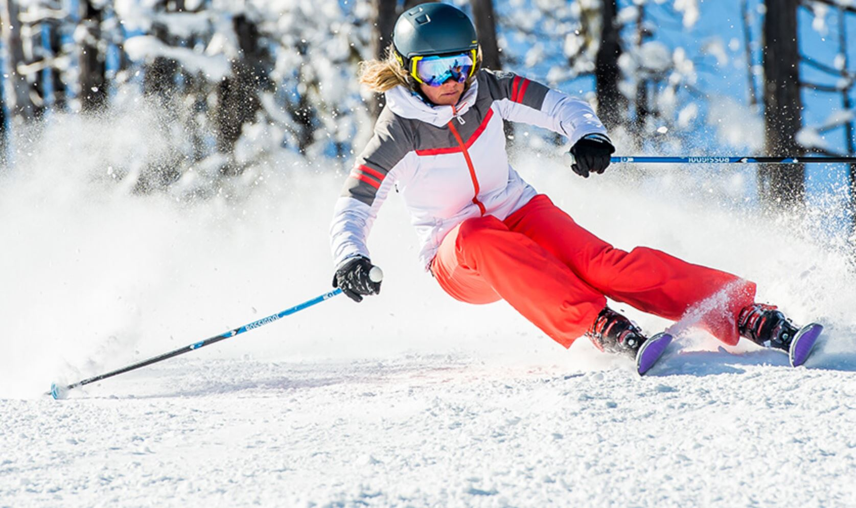 All inclusive ski and snowboard rental packages.
