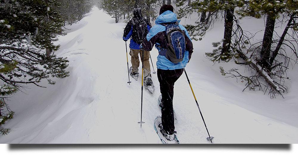 Snowshoe Adventures at the Breckenridge Nordic Center
