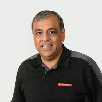 Aerospike Chief Development Officer and Co-founder- Srini Srinivasan