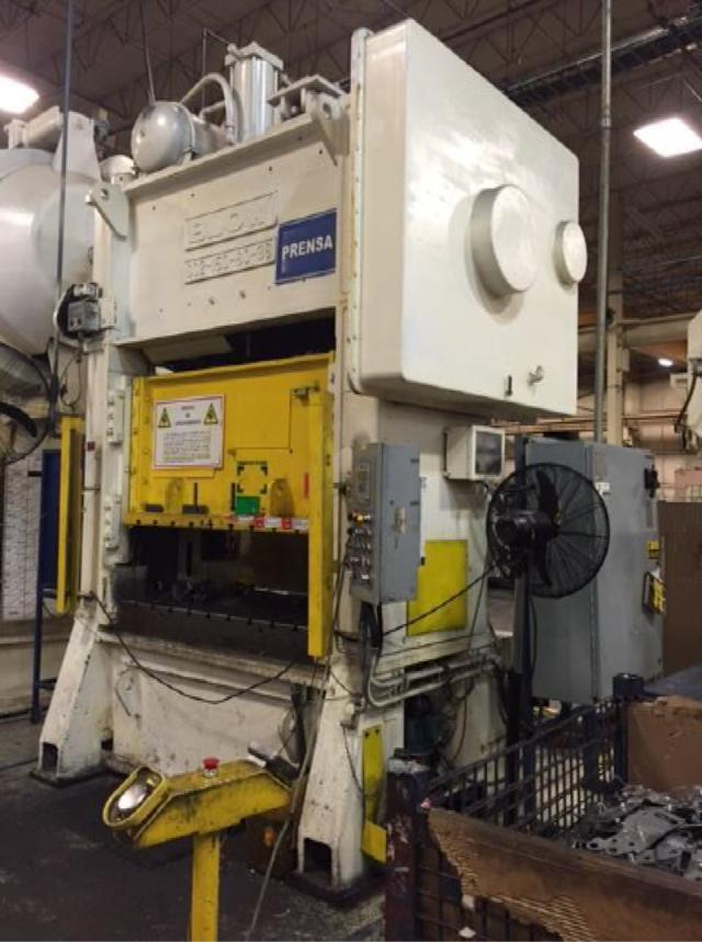 150 Ton Blow Metal Stamping Punch Press For Sale | Call 616