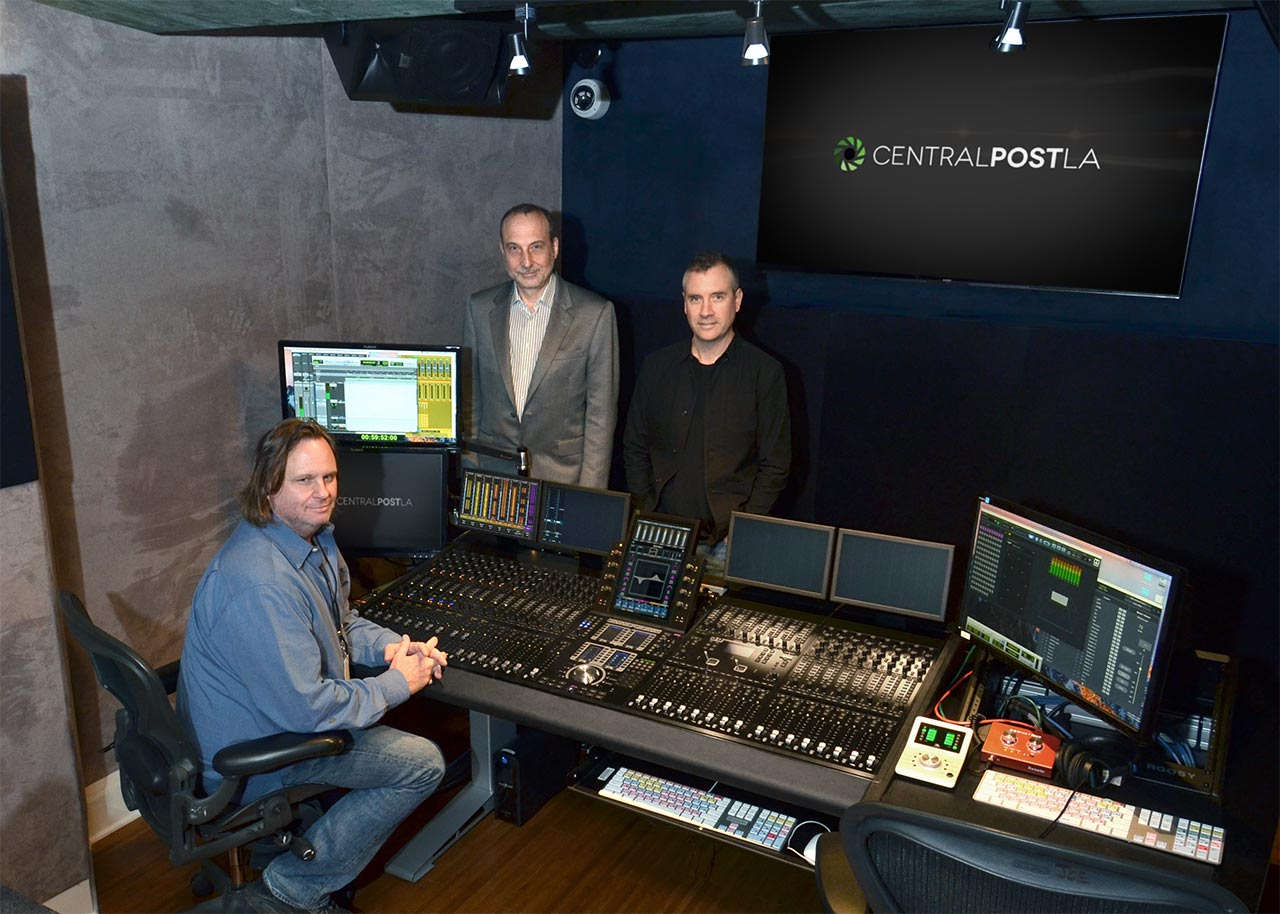 Paul Massey Control Room
