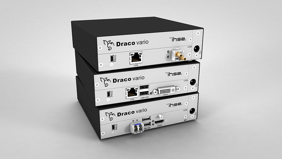New Draco ultra KVM extenders for a wide range of video formats