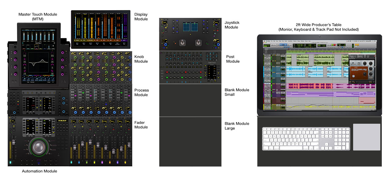 Avid Pro Tools S6 Modules