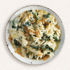 Amy's cheese pasta with kale