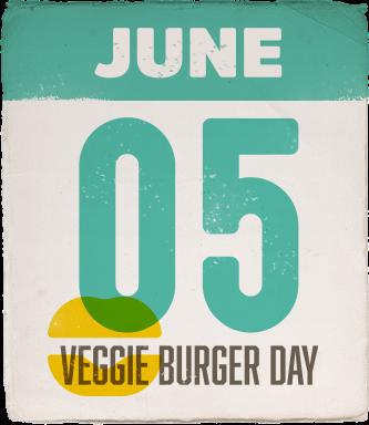 June 05 Veggie Burger Day