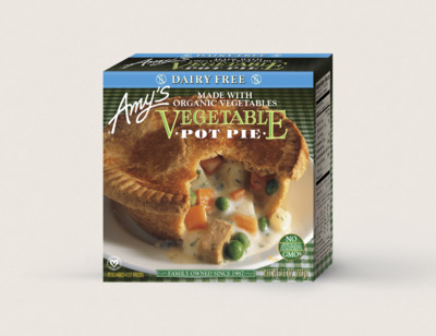 Vegetable Pot Pie, Dairy Free