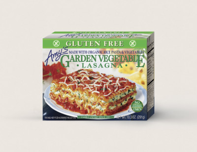 Garden Vegetable Lasagna, Gluten Free