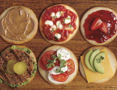 Organic Sandwich Rounds, Gluten Free, Dairy Free