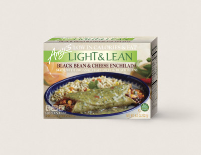 Black Bean & Cheese Enchilada - Light & Lean
