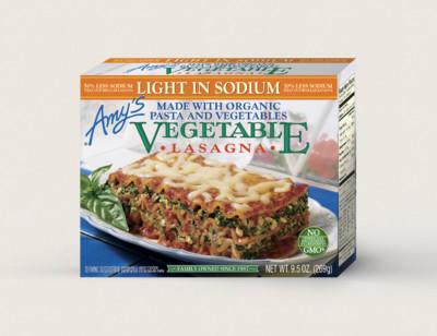 Vegetable Lasagna, Light in Sodium
