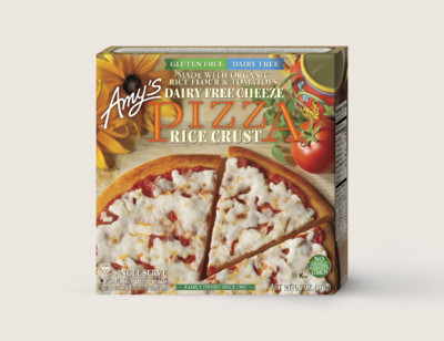 Cheeze Pizza, Gluten Free, Dairy Free, Single Serve
