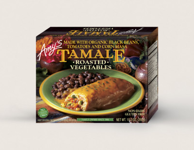 Roasted Vegetables Tamale