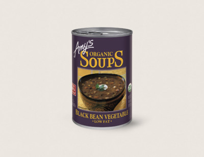 Organic Black Bean Vegetable Soup