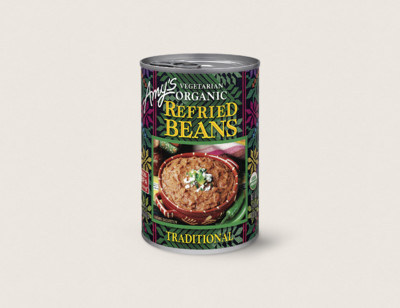 Organic Vegetarian Traditional Refried Beans