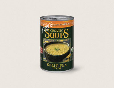 Organic Split Pea Soup, Light in Sodium