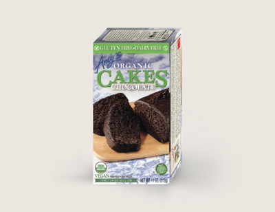 Organic Chocolate Cake, Gluten Free, Dairy Free