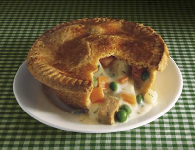 Vegetable Pot Pie, Dairy Free