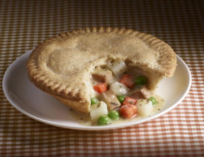 Vegetable Pot Pie, Gluten Free