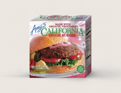 California Veggie Burger - 2 Patties
