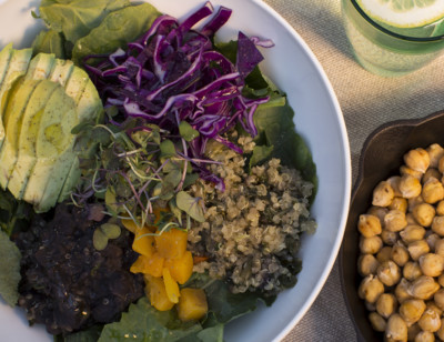 Quinoa and Black Bean Buddha Bowl
