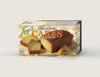 Organic Orange Cake