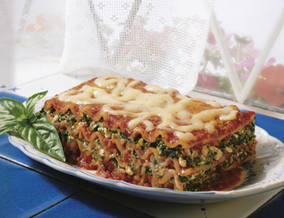 Vegetable Lasagna, Light in Sodium