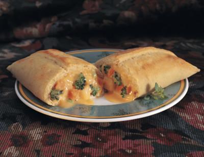 Broccoli & Cheese in a Sandwich