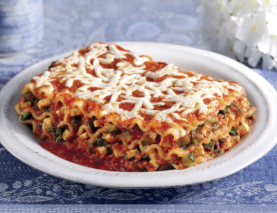Vegetable Lasagna with Daiya Cheeze™, Gluten Free, Dairy Free