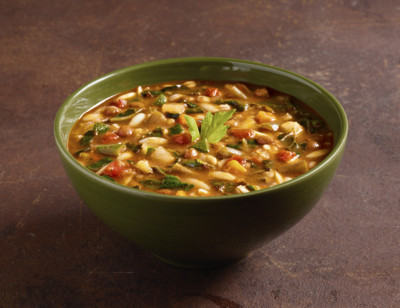 Organic Hearty Minestrone with Vegetables