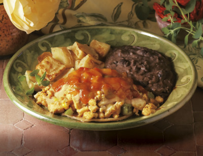 Mexican Tofu Scramble