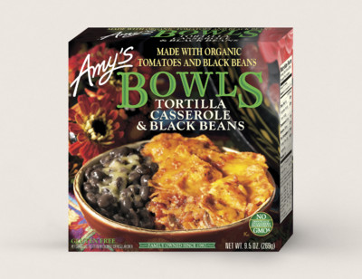 Tortilla Casserole & Black Beans Bowl