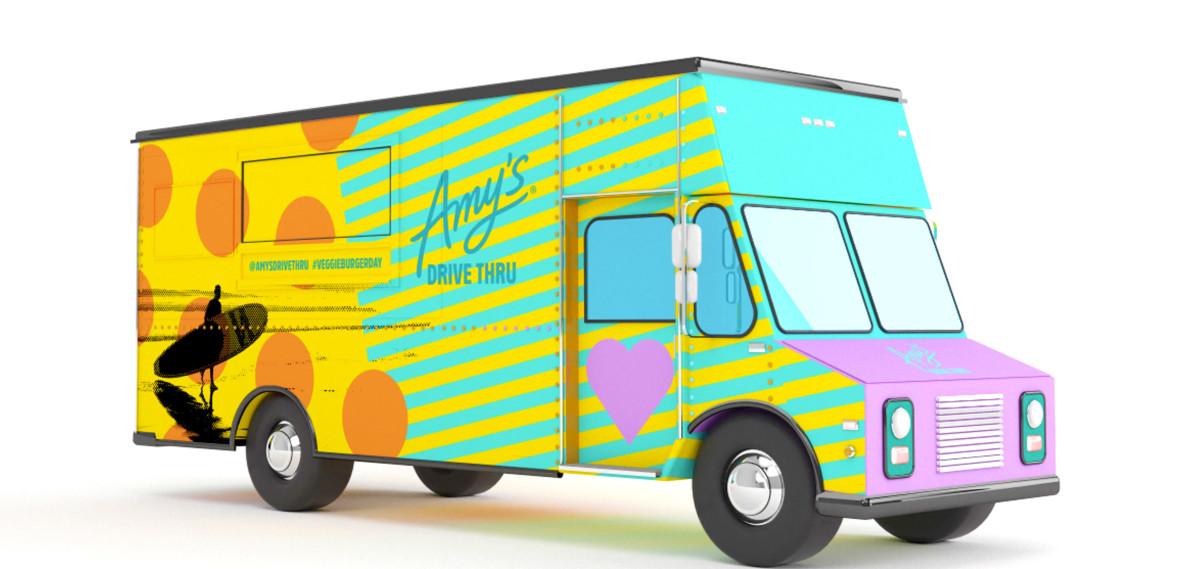Amy's Drive Thru Veggie Burger Day Truck