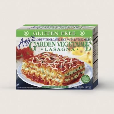 Garden Vegetable Lasagna, Gluten Free