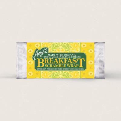 Breakfast Scramble Wrap