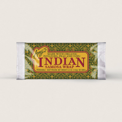 Indian Samosa Wrap