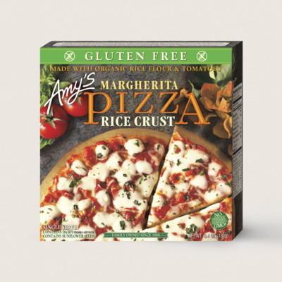 Margherita Pizza, Gluten Free, Single Serve
