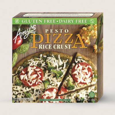 Pesto Pizza, Gluten Free, Dairy Free