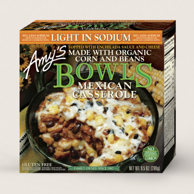 Mexican Casserole Bowl, Light in Sodium