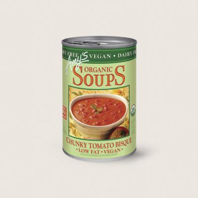 Organic Chunky Tomato Bisque, Dairy Free, Vegan