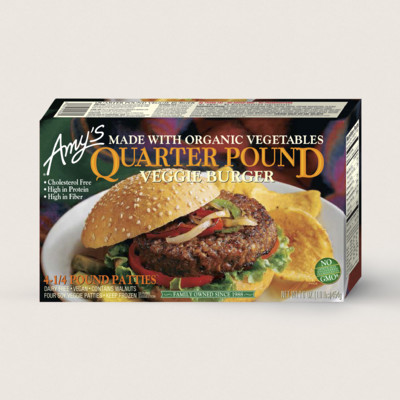 Quarter Pound Veggie Burger