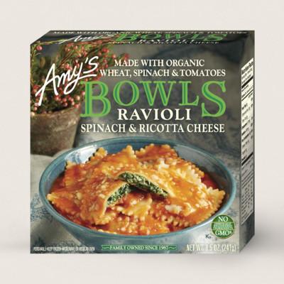 Spinach Ravioli Bowl