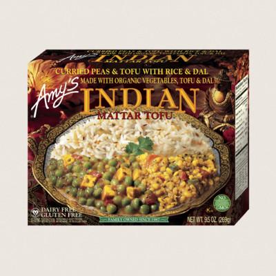 Indian Mattar Tofu