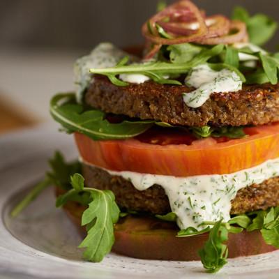 Amy's Veggie Burger Skinny