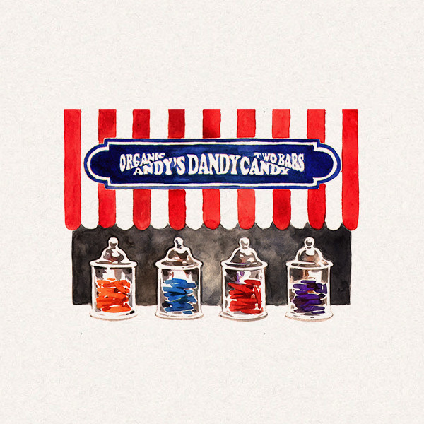 Amy's candy jars