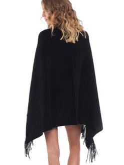 Minnie Rose Security Blanket - Black - Amanda Mills LA