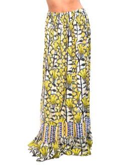 Love Sam Lemeki Print Lesedi Maxi Skirt
