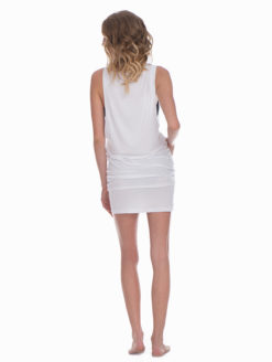 Marysia White T-Shirt Dress