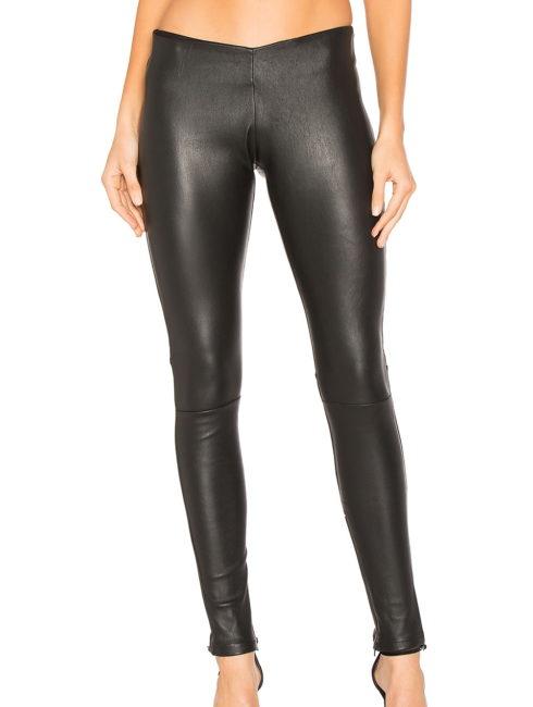 Plonje Sleek Leather Leggings - BlackPlonje Sleek Leather Leggings - Black-shopamla