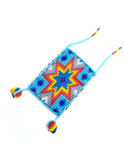 Nyali Beaded Pouch Necklace