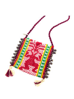 Nyali Oaxacan Pouch Necklace